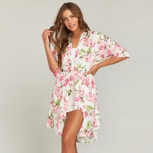 show me your Mumu   Women's Floral Robe O/S